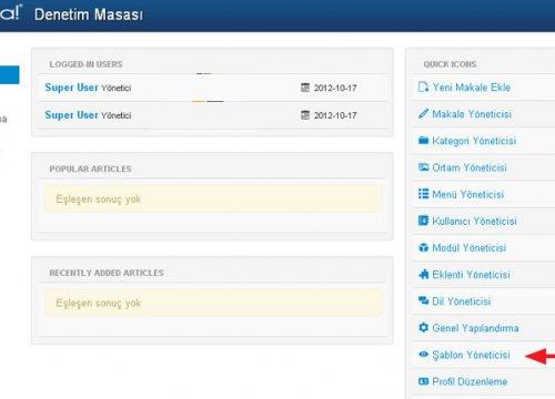 Joomla 3.0 Tema Modül Pozisyonlarını Görmek